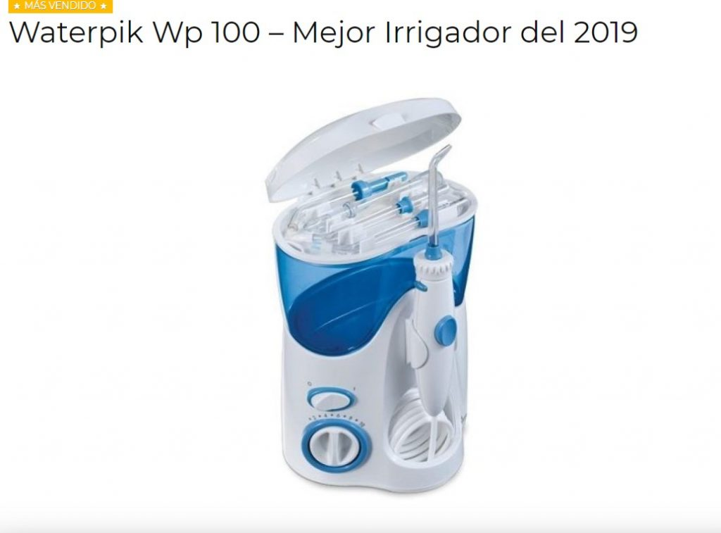 comprar online irrigador dental waterpik 100
